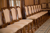 Chair row — Stock Photo