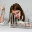 Royalty-Free Stock Photo: Working in the laboratory