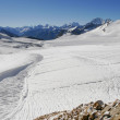 Stock Photo: Ice field near Elbrus