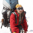 Stock Photo: Alpinist