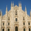 Cathedral in Milan, Duomo — Stock Photo