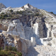 Open quarry of white marble — Stock Photo #1235518
