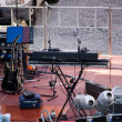 Stockfoto: Setup of concert stage