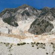 Open quarry of white marble — Stock Photo