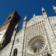 Duomo of Monza facade - Stock Photo