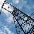 Electric high voltage line — Stock Photo #1236530