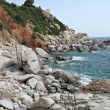 Arbatax Sardinia coast — Stock Photo