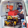 Stock Photo: Ambulance equipment