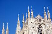 Cathedral in Milan, Duomo — Stock Photo