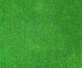 Green artificial grass plat — Stock Photo