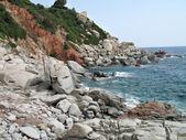 Arbatax Sardinia coast — Stock Photo