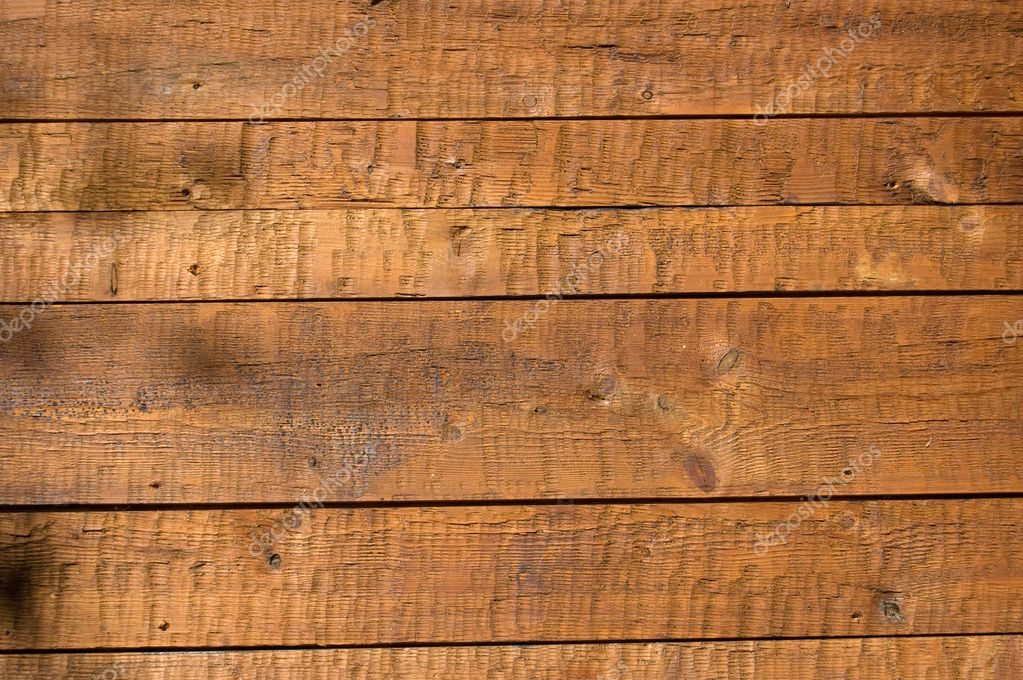 Facing of wooden boards of a wall. Detail of an alpine refuge side — Stock Photo #1236459