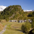 Alpe Devero alpine landscape - Stock Photo