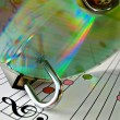 Royalty-Free Stock Photo: Music piracy protection