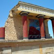 Knossos Bull Fresco — Stock Photo
