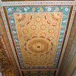Moroccan style ceiling — Stock Photo