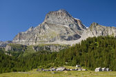 Leone mount and Alpe Veglia — Stock Photo