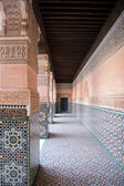 Marrakesh Ben Youssef Medersa — Stock Photo