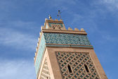 Marrakesh Minaret — Stock Photo