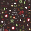 Royalty-Free Stock Imagen vectorial: Happy Holidays III