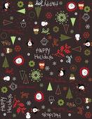 счастливых праздников iii — Cтоковый вектор