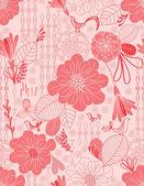 Floral Garden III — Stock Vector