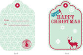 Christmas Tag I — Stock Vector