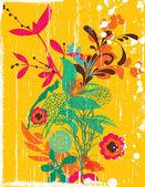 Le bouquet — Vecteur