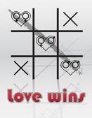 Love Wins — Stock Vector