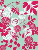 Láska je ve vzduchu ii — Stock vektor