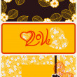 Stock Vector: Declarations of Love