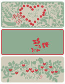 Sweethearts' Day — Vector de stock