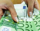 Banknotes - Euro — Stock Photo
