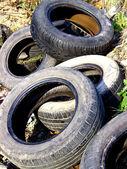 Tire Waste — Stock Photo