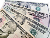 Banknotes - US Dollars — Stock Photo