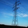 Stock Photo: Tower of electricity transmissions