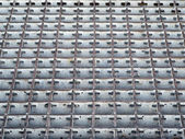Aluminum grid — Stock Photo