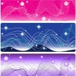 Set of 3 banner — Stock Vector #1237347