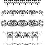 Vintage patterns for design — Stock Vector #1238701