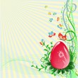 Royalty-Free Stock Vector Image: Easter background