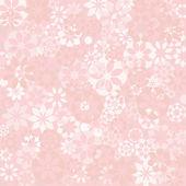Pastel Flower Texture — Stock Vector