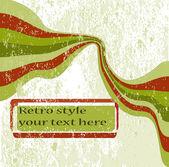 Grungy retro background — Stock Vector