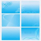 Visit card templates — Stock Vector