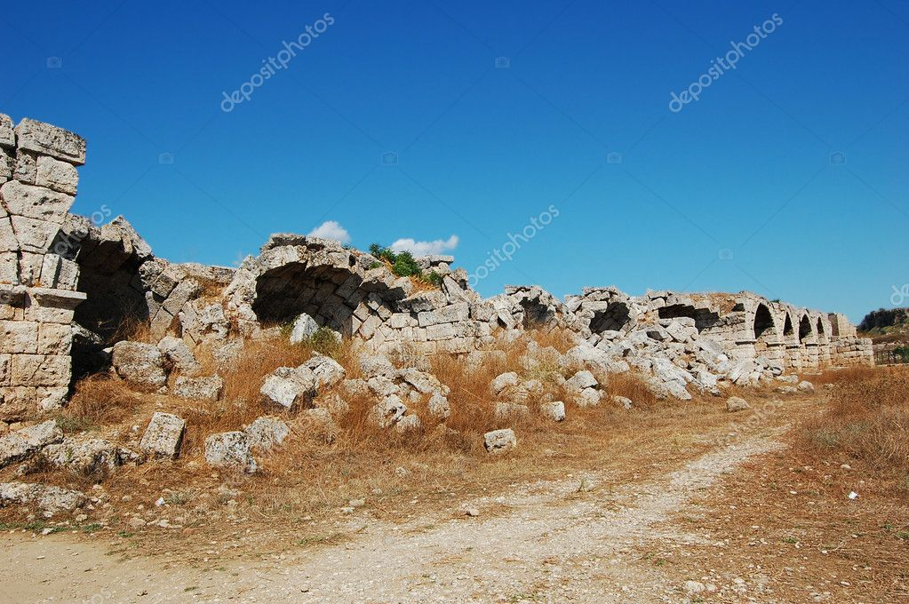 Ancient structures in Turkey  Stock Photo #1259699