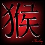 Chinese Zodiac Monkey — Stock Photo