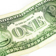 Royalty-Free Stock Photo: One dollar