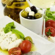 Italian cuisine — Stock Photo