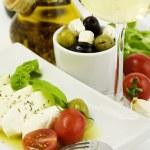 italiensk mat — Stockfoto