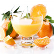 Orange juice — Stock Photo #1390526
