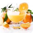 Orange juice — Stock Photo #1390526